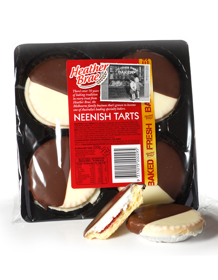 4 pack Neenish Tarts