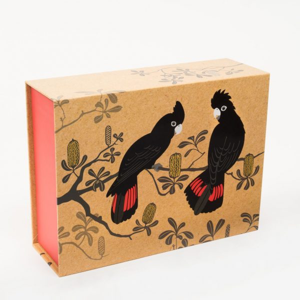 Black Cockatoo Gift Box