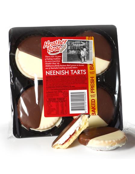 4 pack Neenish Tarts