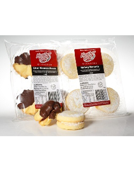 4 pack Choc Viennese Kisses and Melting Moments