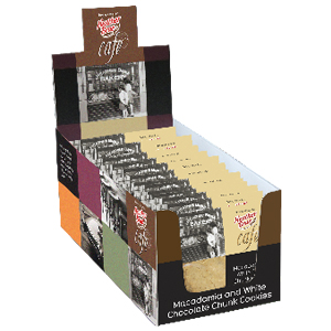 12 pack Café Cookie Display Box